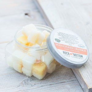 Rock Bottom Soap - Goat Milk Sugar Cube Scrubs