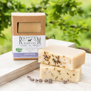 Rock Bottom Soap - Lavender Goat Milk Soap