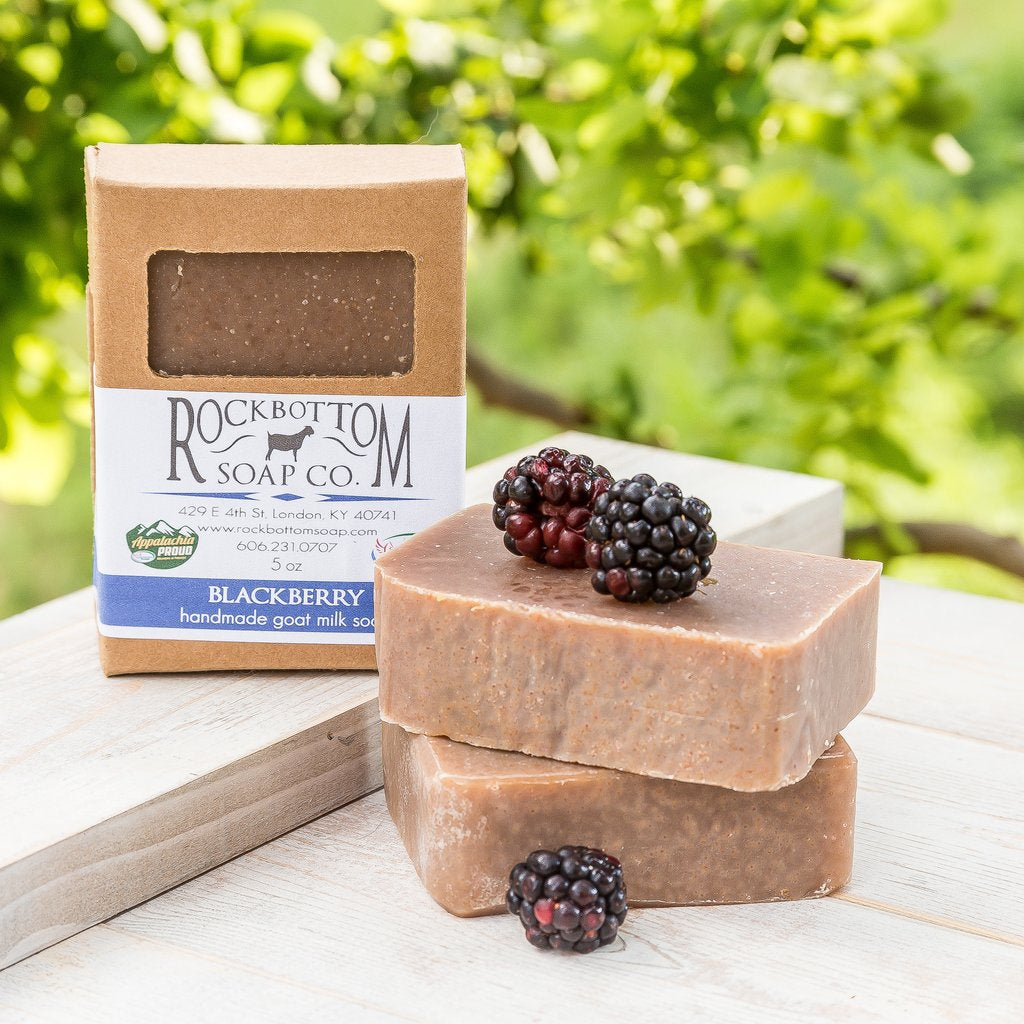 Rock Bottom Soap - Blackberry Goat Milk Soap