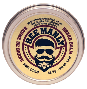 Honey House Naturals - Bee Manly Beard Balm