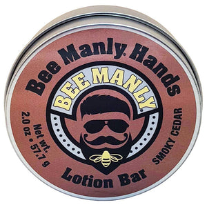 Honey House Naturals - Bee Manly Hands Lotion Bar