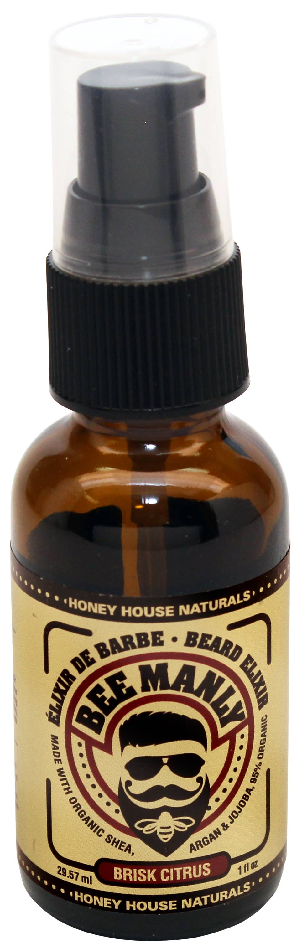 Honey House Naturals - Bee Manly Beard Elixir
