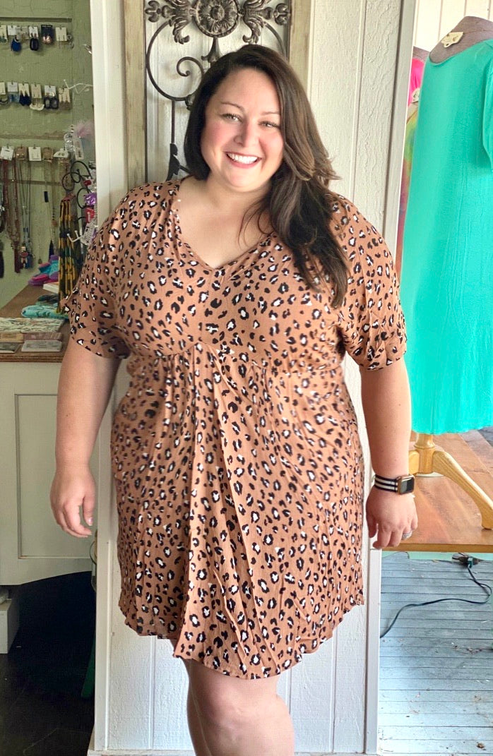 Lacie's Leopard Tunic Dress