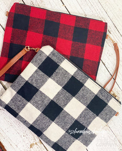 WPF Plaid Wristlets