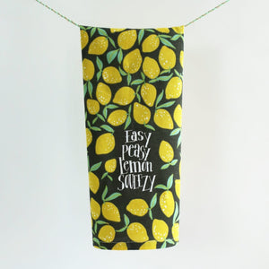 Easy Peasy Lemon Squeezy • Hang Tight Towel