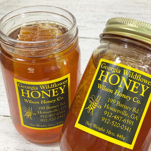 GA Grown Wilson Honey w/Cone