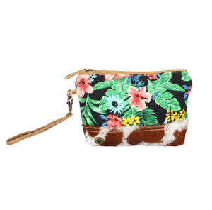 Flower HairOn Tapestry Pouch