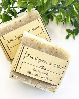 Eucalyptus & Mint Bar Soap