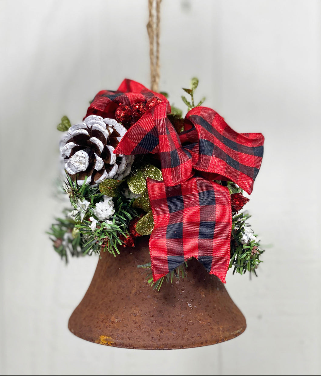 Rustic Bell Ornament