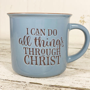 'I can do all things' Campfire Coffee Mug