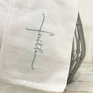 'Faith' Tea Towel