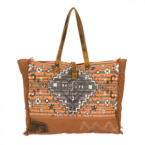 Rust Affair Weekender Bag