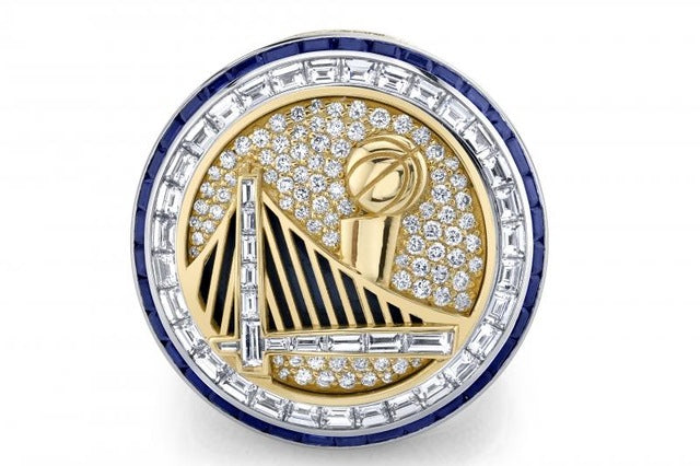 2016-17 Golden State Warriors Championship Ring