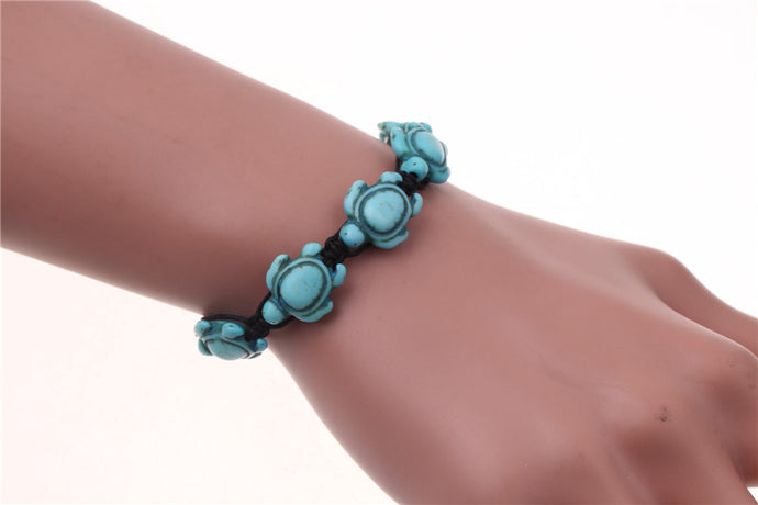 The Turquoise Sea Turtle Bracelet