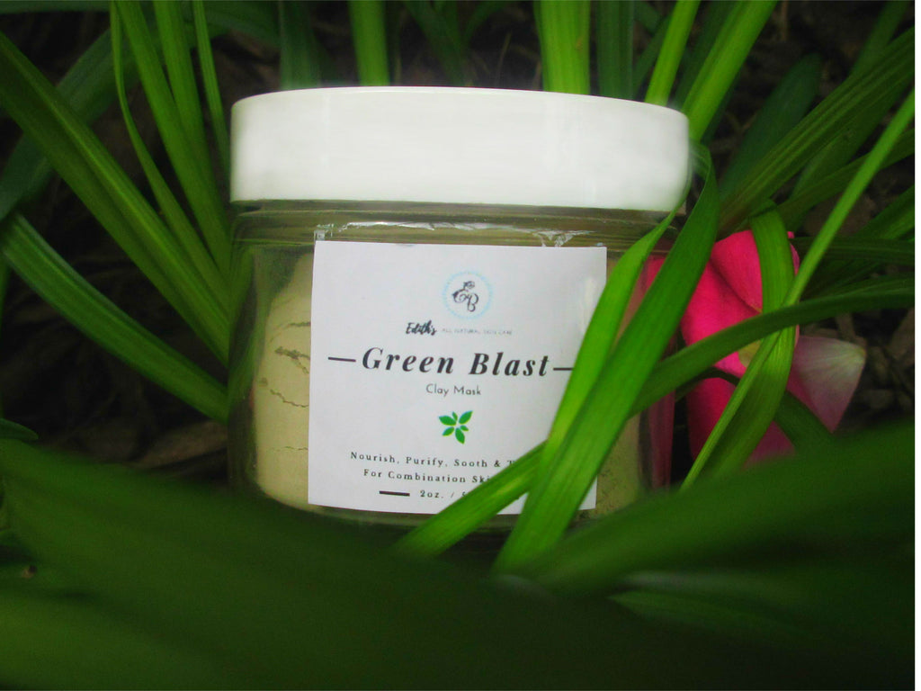 "Edith's ""GREEN BLAST"" Clay Face Mask"