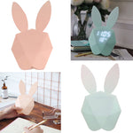 Cute Bunny Digital Alarm Clock LED Thermometer Rechargeable