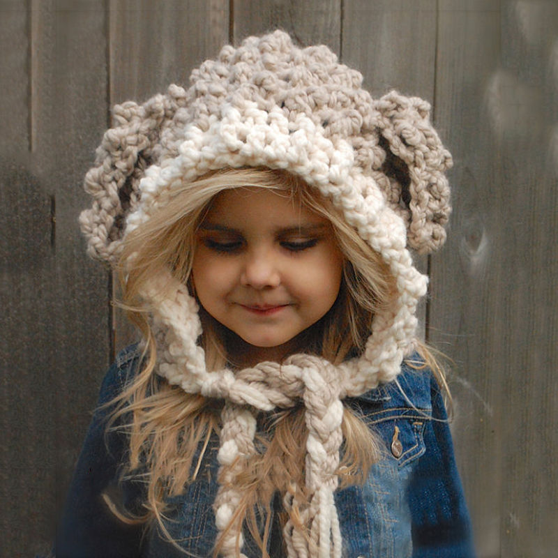 Winter Girl Knitted Warm