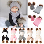 Fashion Baby Hat Scarf Set