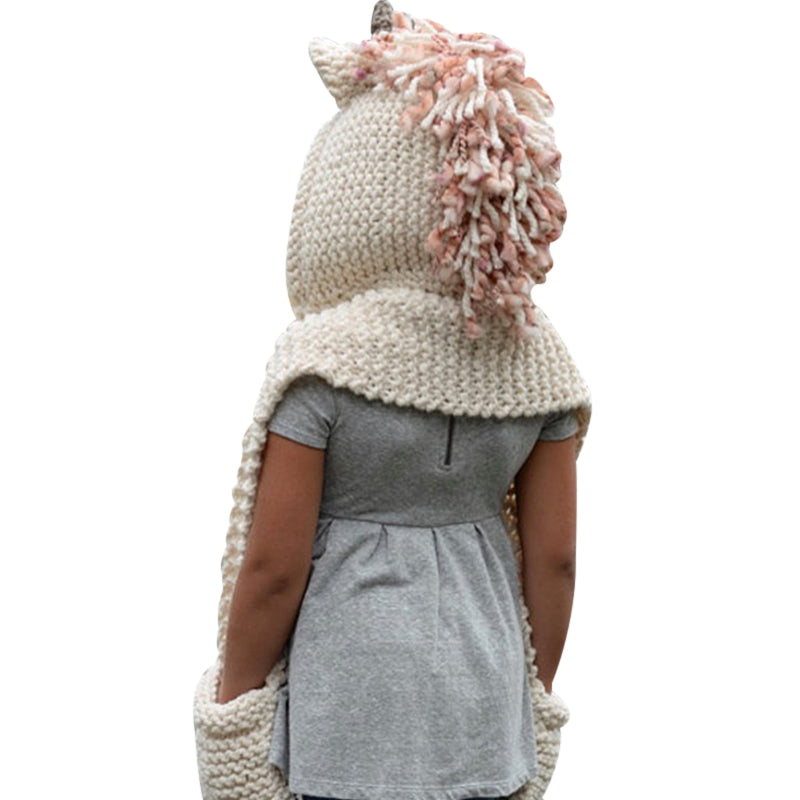 Winter Baby Knitted Wool Hat Caps for Girls & Boys