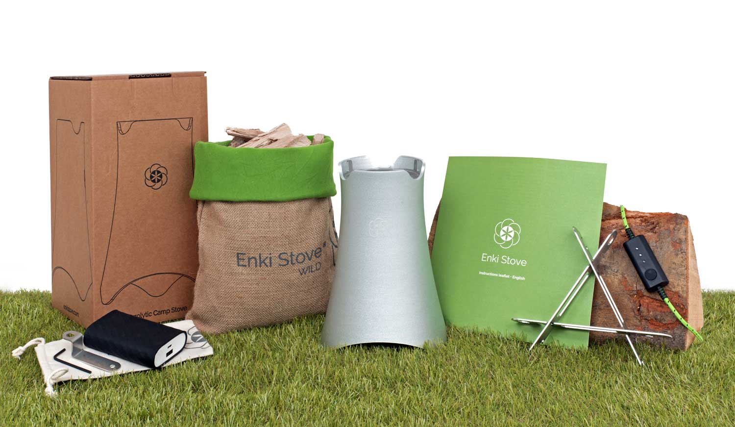 Enki Wild Plus Large  Biomass stove