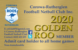 Golden Roo Membership