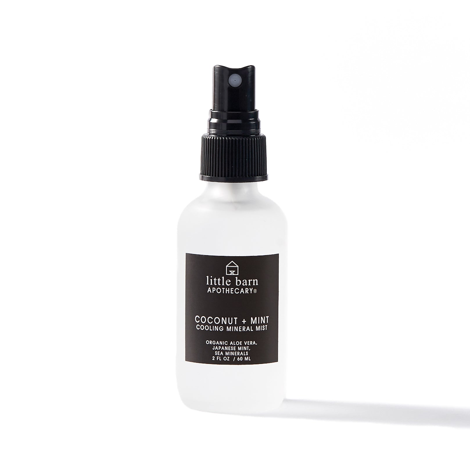 Little Barn Apothecary Coconut + Mint Cooling Mineral Mist