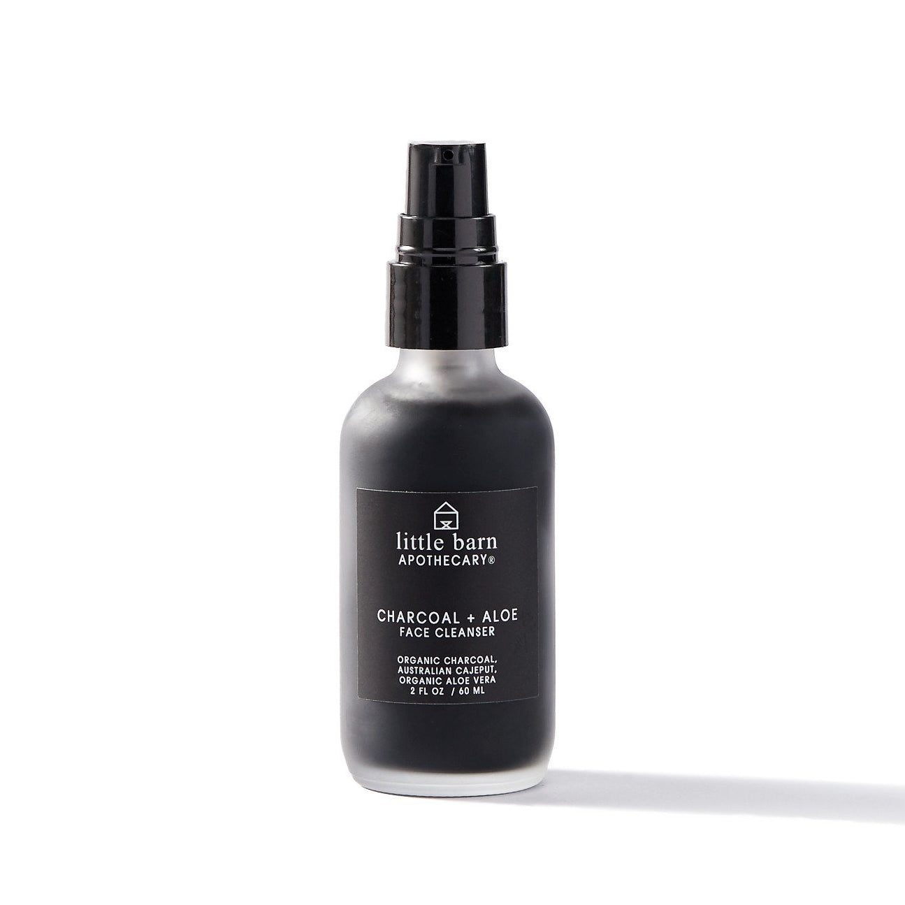Little Barn Apothecary Charcoal + Aloe Face Cleanser