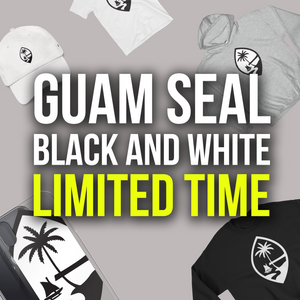 Guam Seal Black & White Series