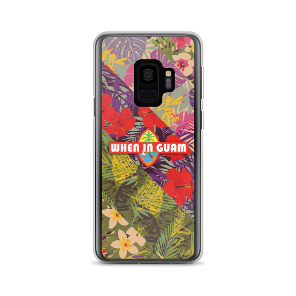 When In Guam OG Floral Samsung Case