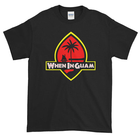 Jurassic Guam Tee: Black and White