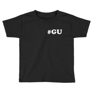 Kids #GU When In Guam Tee: Black