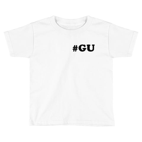 Kids #GU When In Guam Tee: White