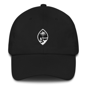Guam Seal Dad Hat: Black