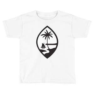 Kids Guam Seal Tee: White