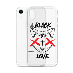 BLACKLOVE phone case transparent (iPhone)