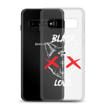 BLACKLOVE phone case transparent (Samsung)
