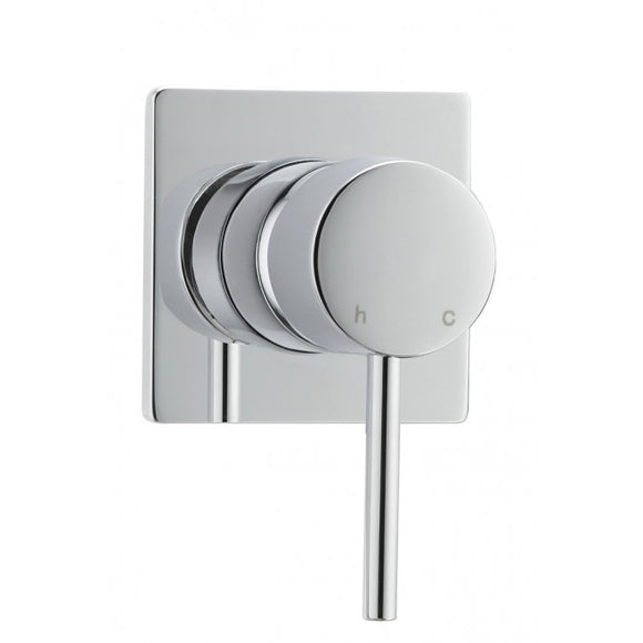 Methven Minimalist shower mixer square plate