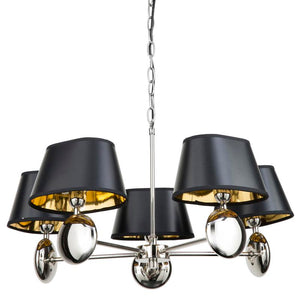 Lozi 5 light pendant