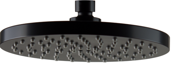 Brasshards Mixx round 200mm ABS shower head matt black