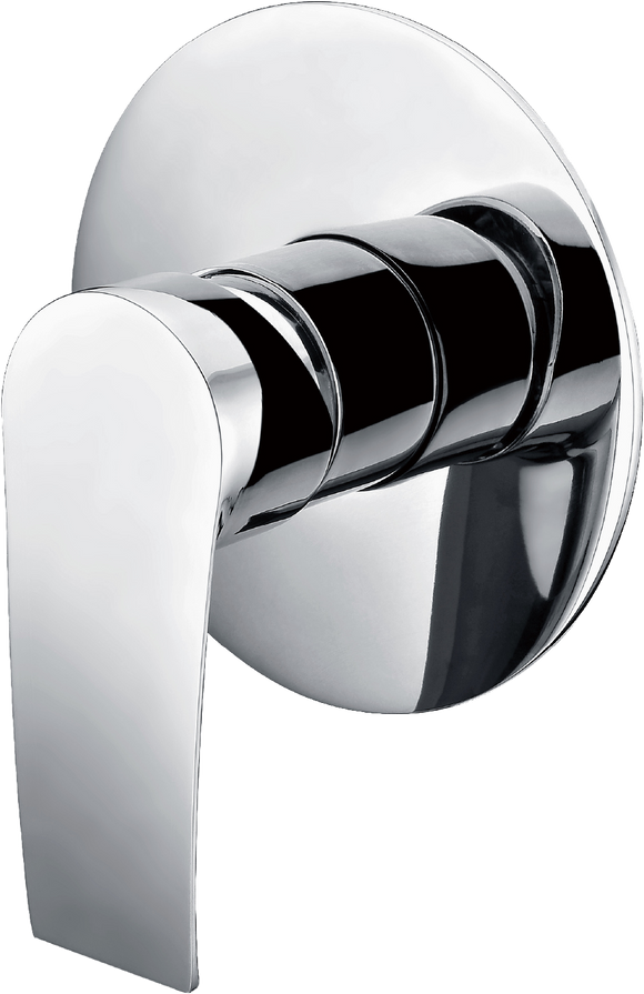 Brasshards Iris (Contour) shower mixer
