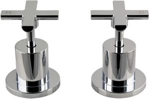 Brasshards Amane wall top assemblies cross jumper valve
