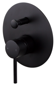 Brasshards Anise (Holli) shower diverter mixer matt black