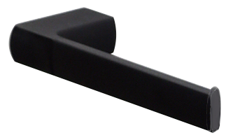 Brasshards Surrey toilet roll holder matt black