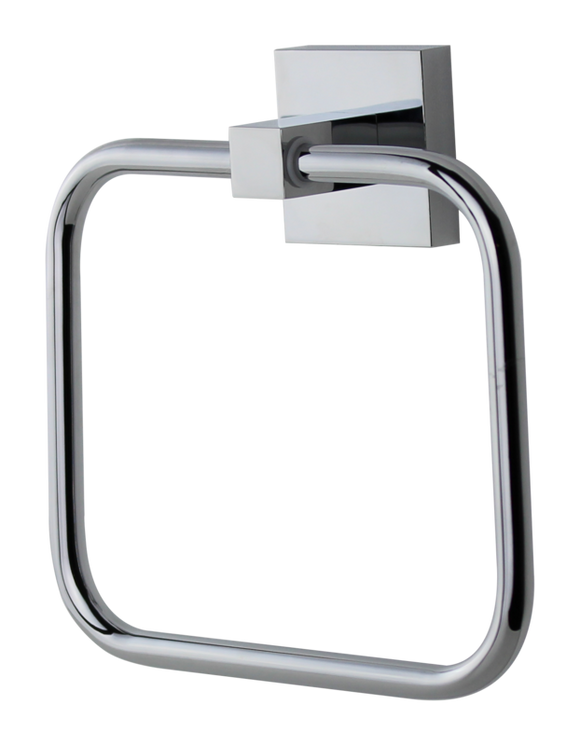 Brasshards Mixx square towel ring