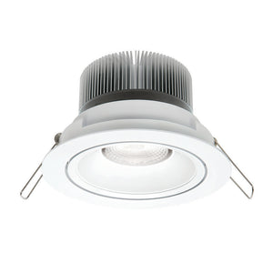 Illumina cob LED round gimbal downlight 11W cool white 4000K