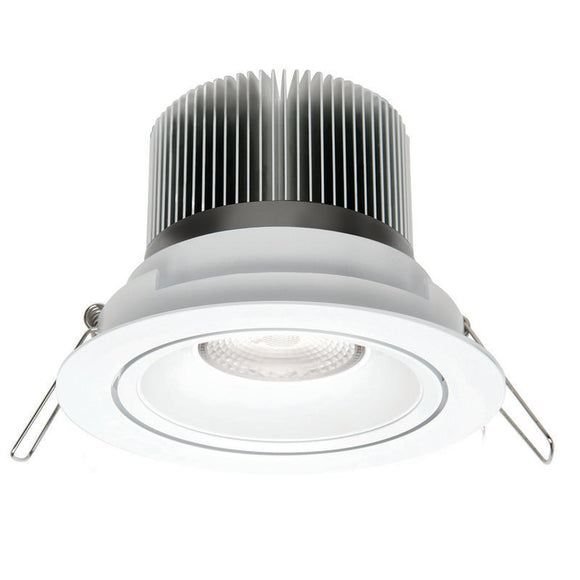 Illumina cob LED round gimbal downlight 13W cool white 4000K