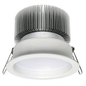 Candella cob LED round diffused downlight 13W warm white 3000K