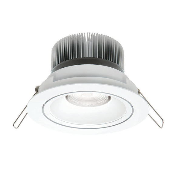 Illumina cob LED round gimbal downlight 11W warm white 3000K