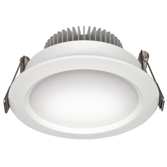 Umbra LED round diffused downlight 11W warm white 3000K white