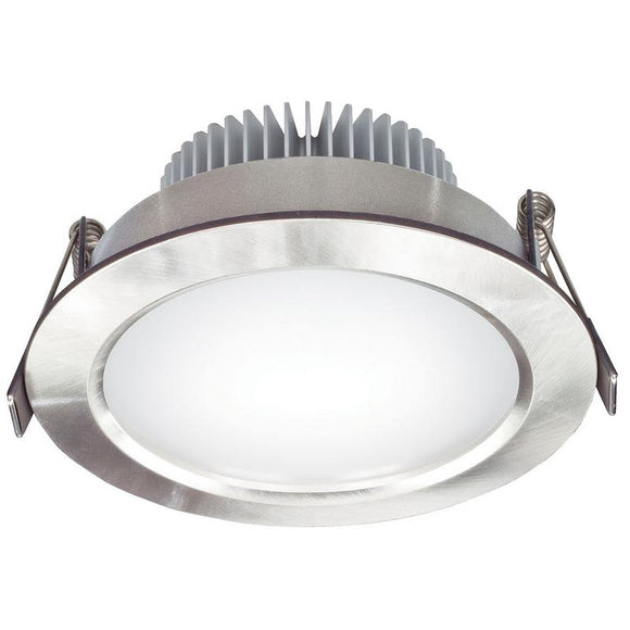 Umbra LED round diffused downlight 11W warm white 3000K anodised aluminium